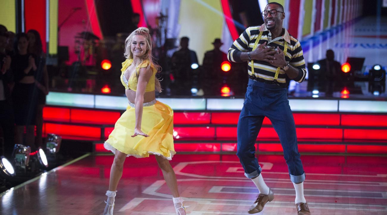 calvin johnson dwts urkel dance video