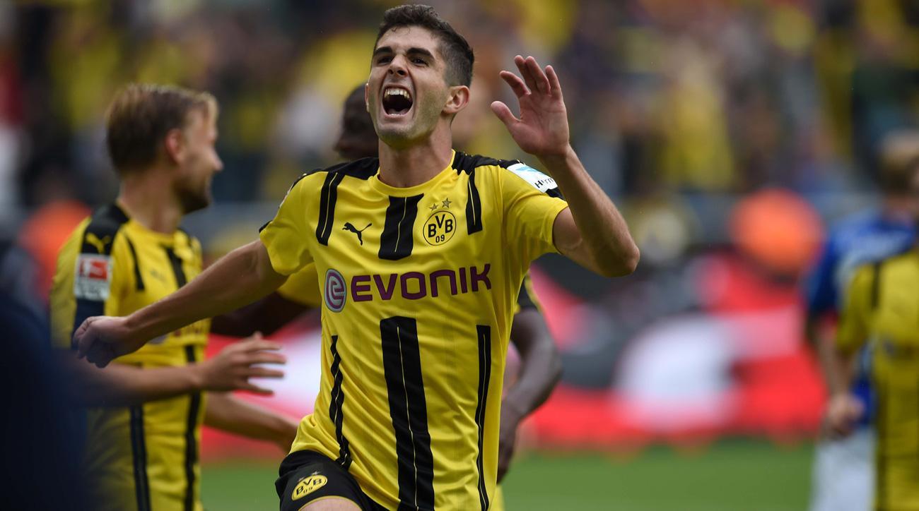 Christian Pulisic is making his mark at Borussia Dortmund