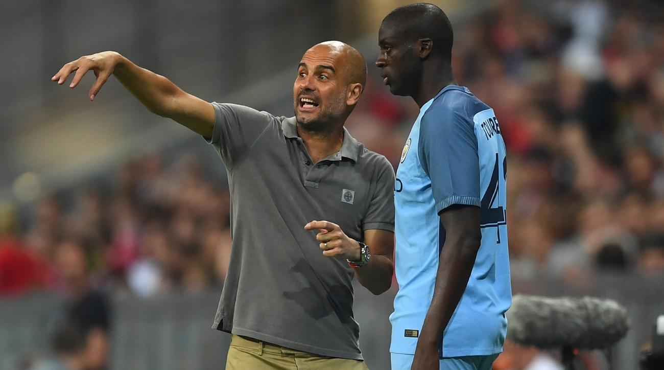 Pep Guardiola won't play Yaya Toure until his agent apologizes for blasting him publicly