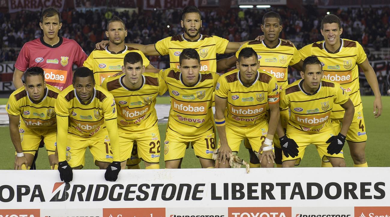 Trujillanos, a Venezuela soccer team, had its team bus robbed by armed men