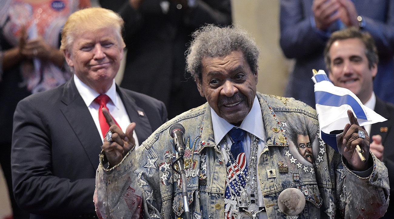 donald trump don king n word speech video