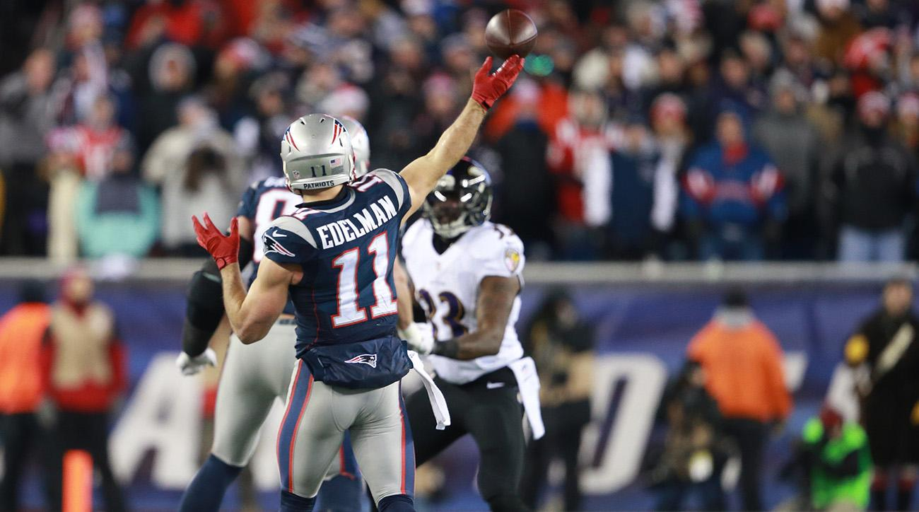 julian edelman patriots quarterback receiver