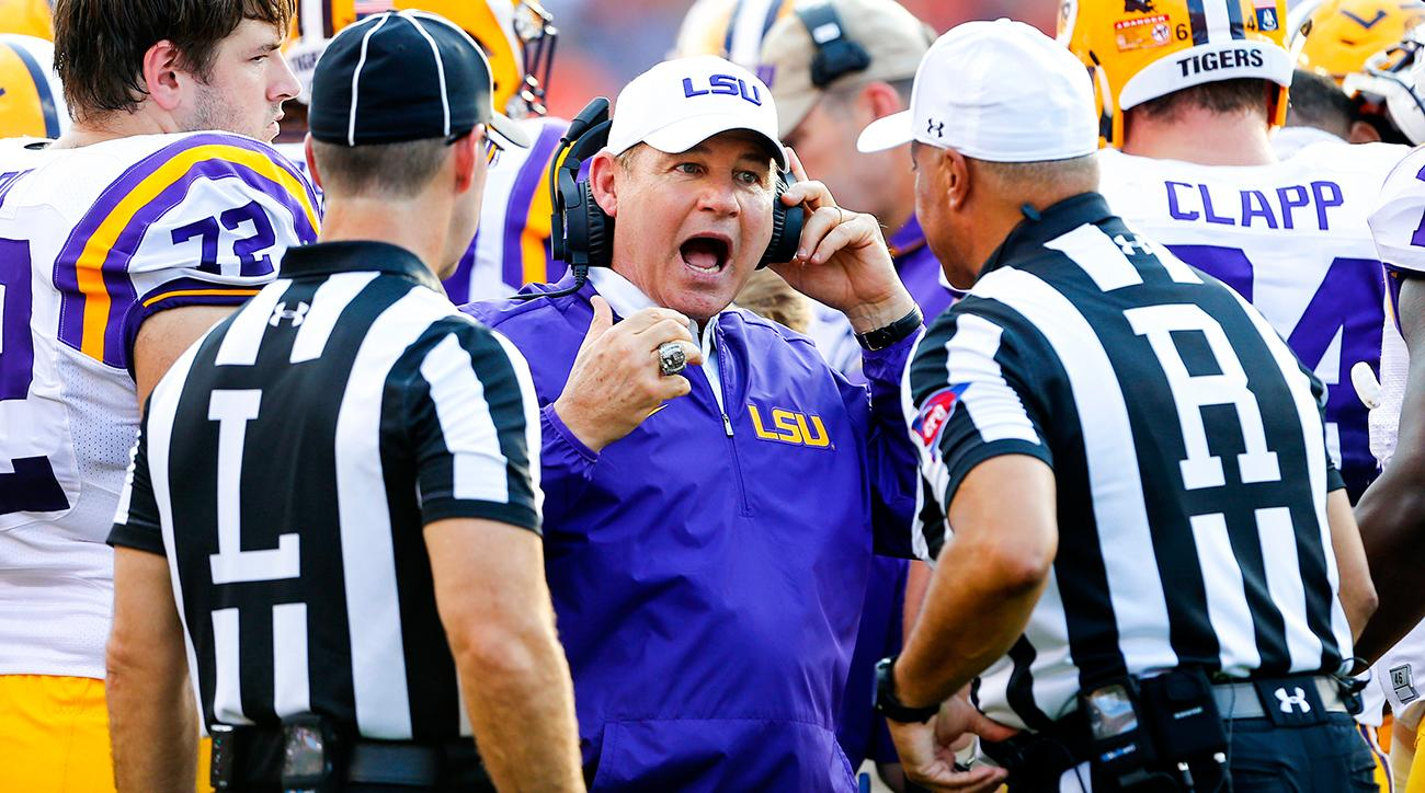 Les Miles, LSU football