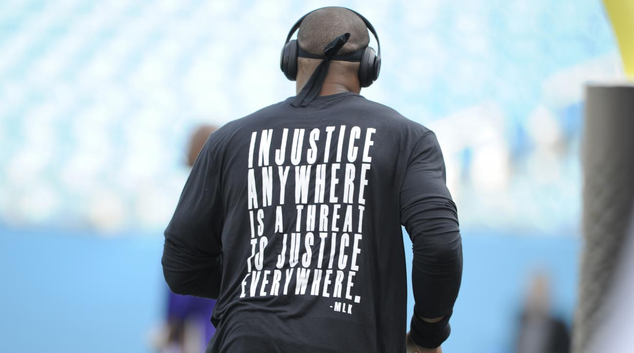 panthers cam newton shirt martin luther king quote charlotte protests