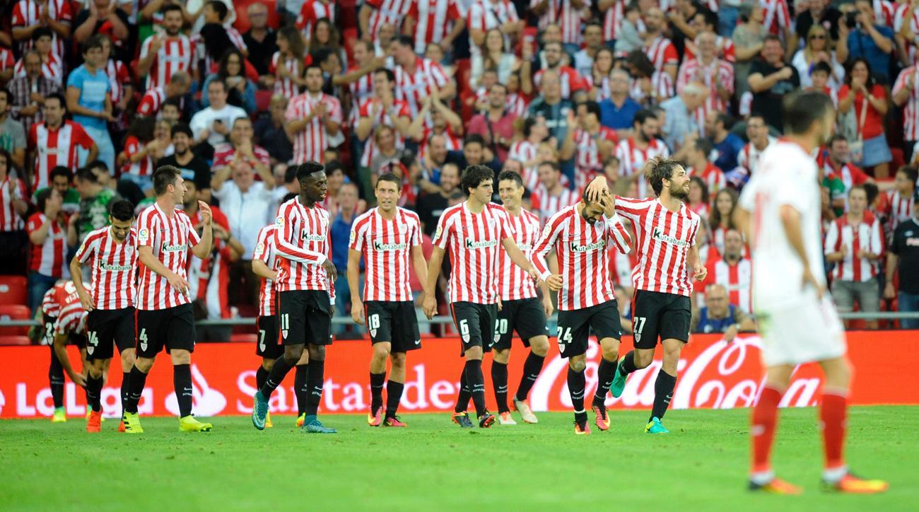 Athletic Bilbao beats Sevilla to stay in form in Spain's La Liga