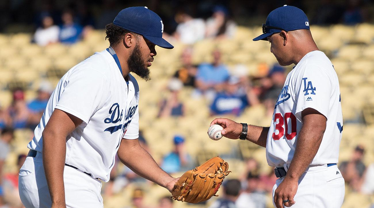 Kenley Jansen and Dave Roberts, Los Angeles Dodgers