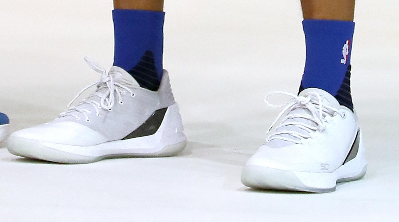 Here is Stephen Curry's new all-white 'Chef' Curry 3