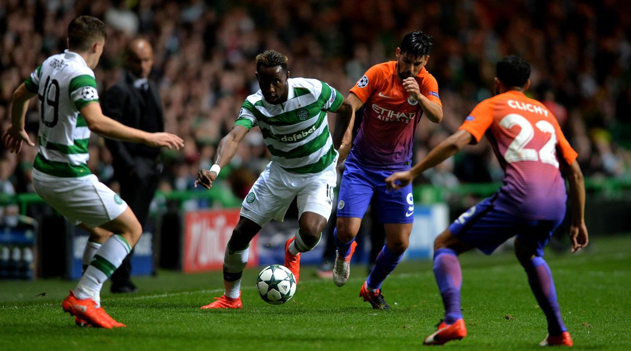Manchester City and Celtic are going back and forth in the Champions League