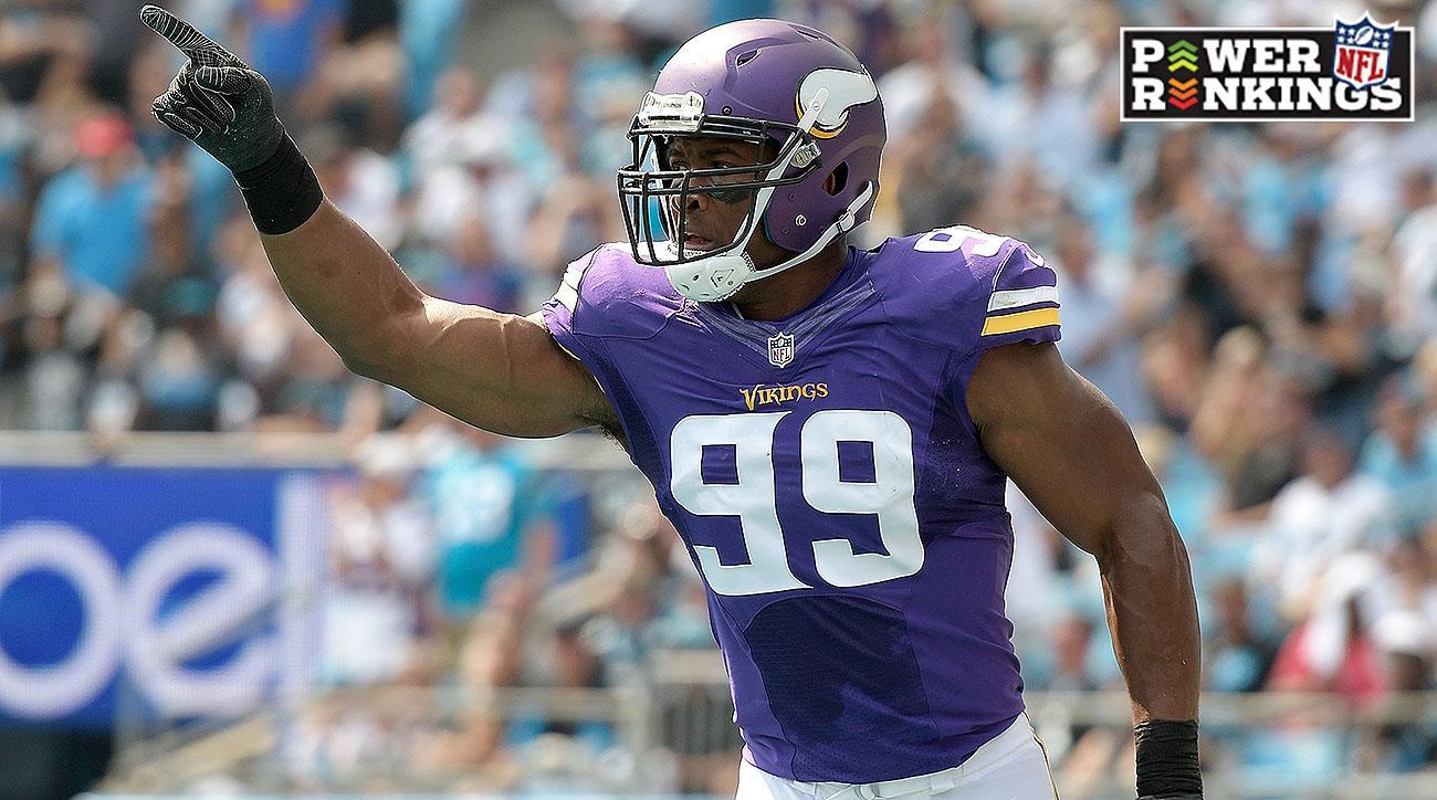 NFL Power Rankings Week 4: Vikings, Eagles, Patriots in top five