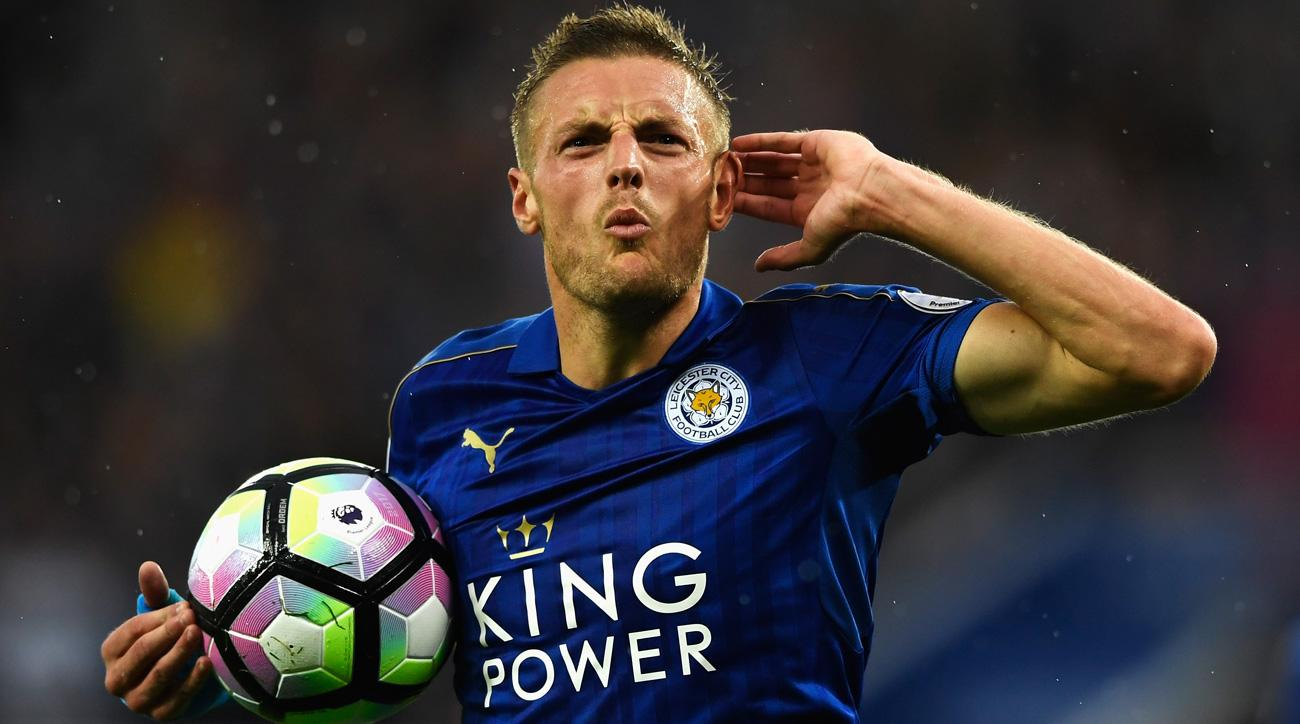 Jamie Vardy says he drinks three Red Bulls and a double espresso on gameday