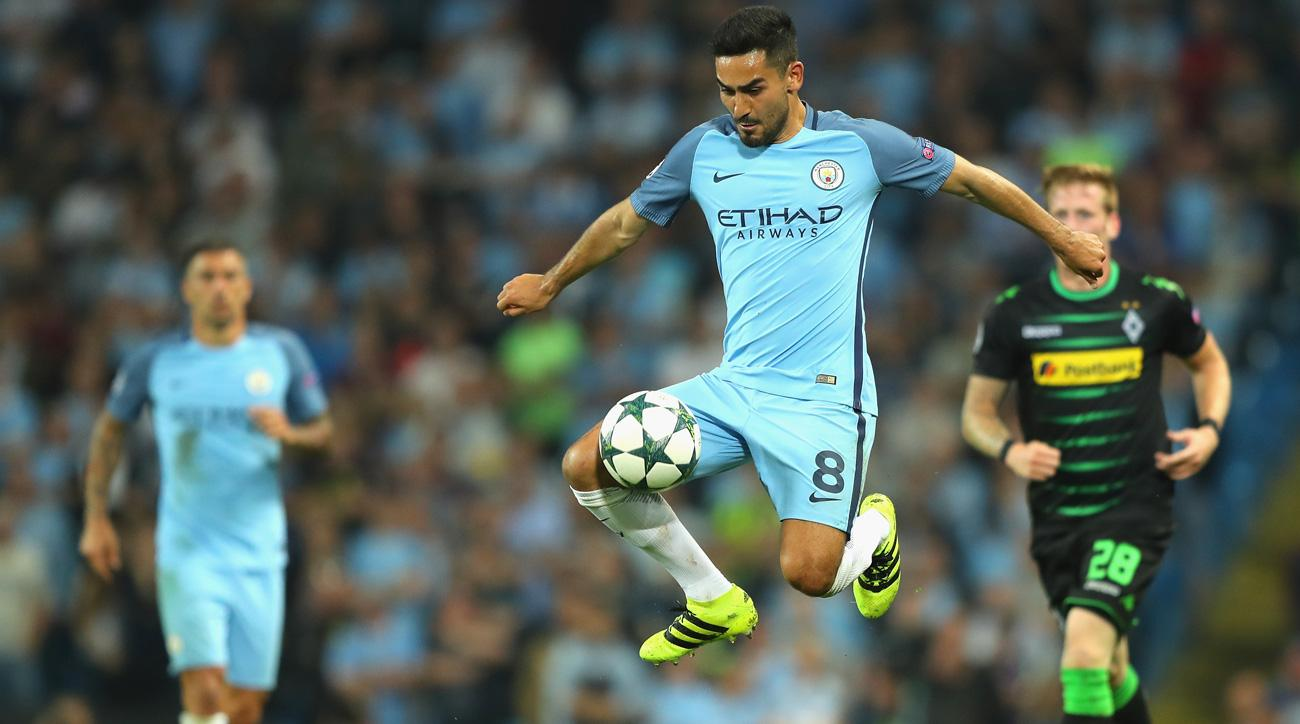 Manchester City's Ilkay Gundogan returns to Germany's national team after an injury absence
