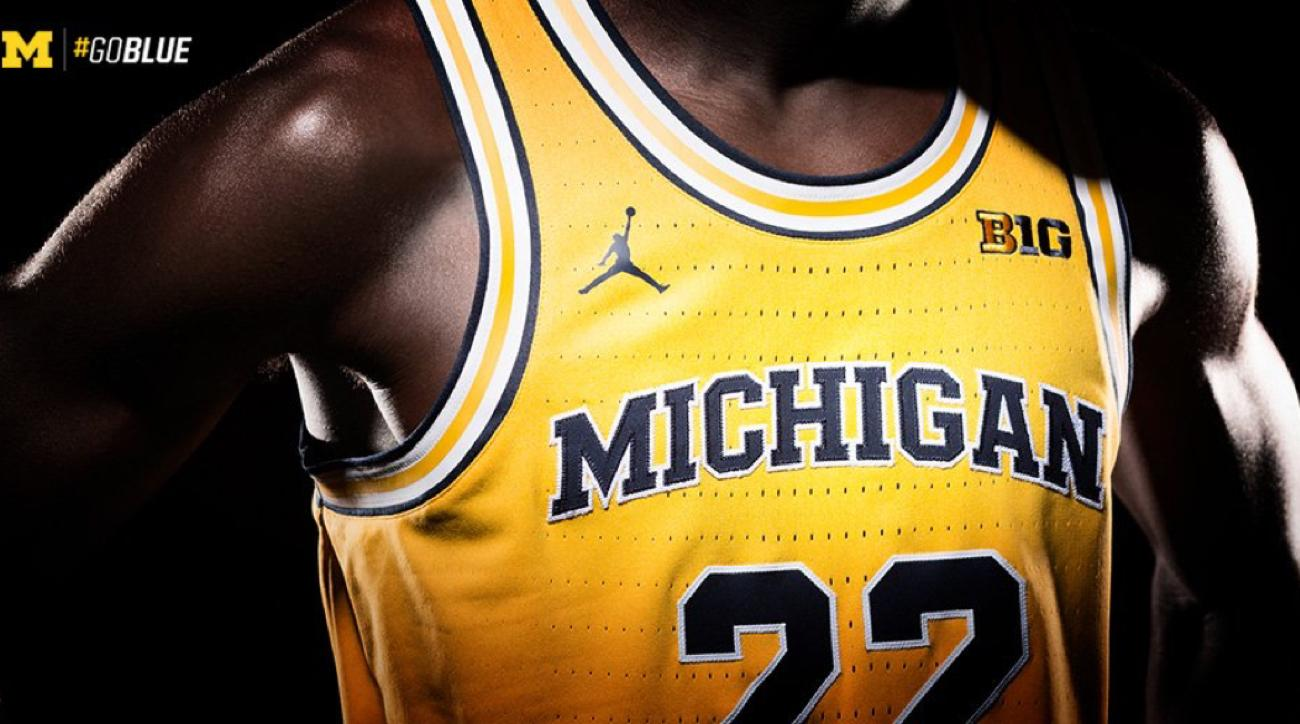 michigan basketball jerseys