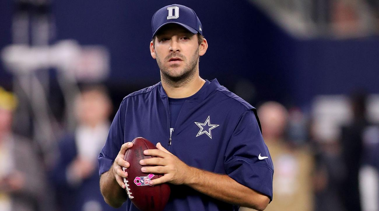 cowboys tony romo injury return week 8 eagles