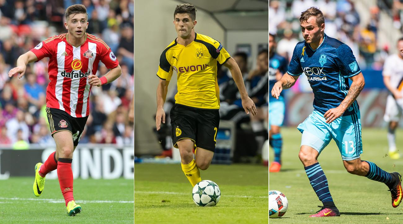 Lynden Gooch, Christian Pulisic and Jordan Morris are on the USA's roster for October friendlies vs. Cuba and New Zealand