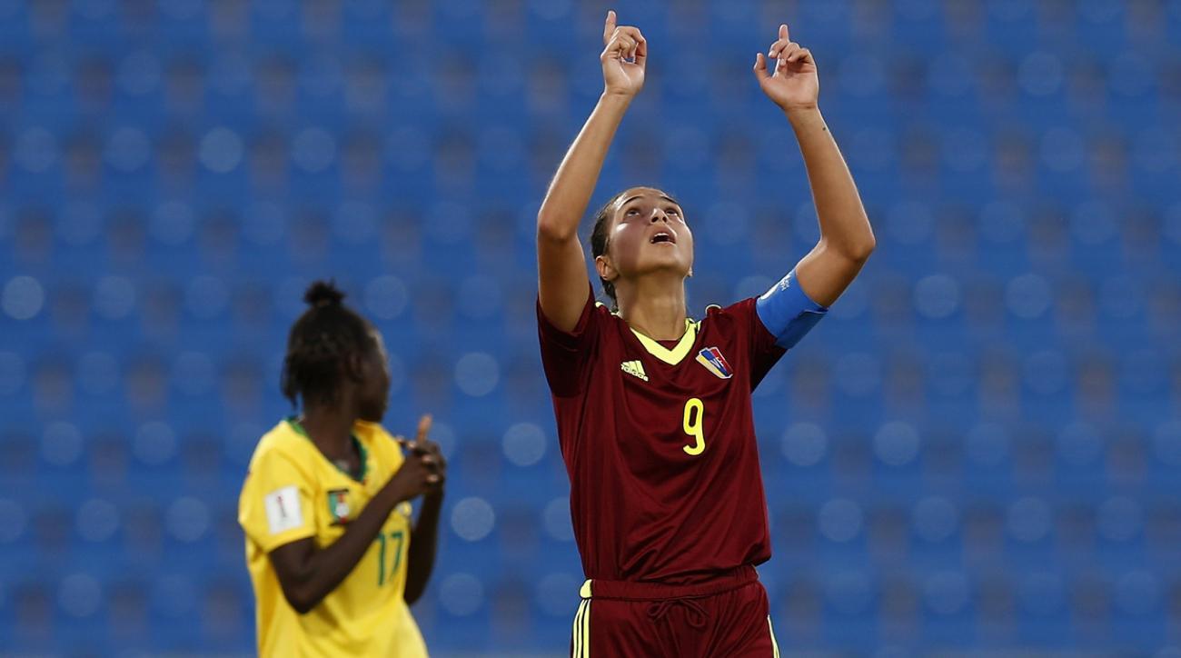 deyna castellanos goal venezuela