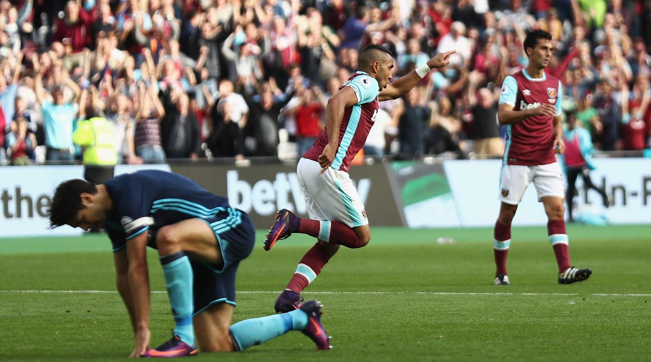 Dimitri Payet scored a great goal for West Ham vs. Middlesbrough