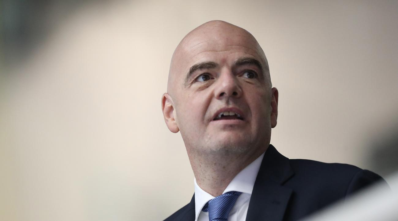 infantino suggests 48 team world cup