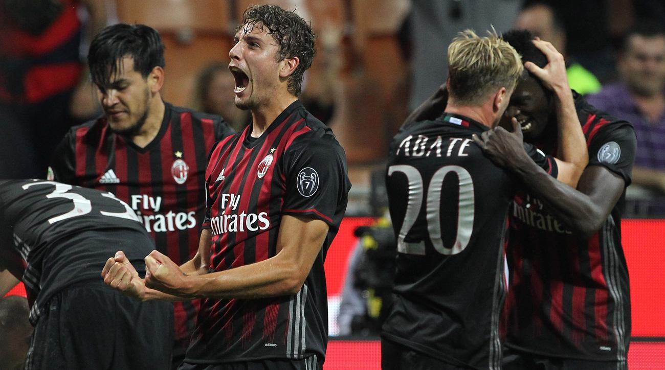 Manuel Locatelli scored a vital goal for AC Milan in a comeback vs. Sassuolo