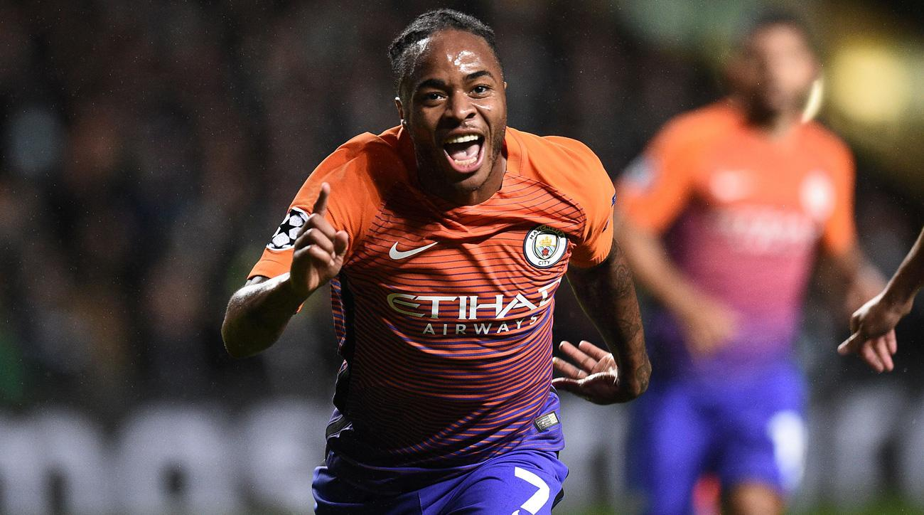Raheem Sterling will miss England's October World Cup qualifiers