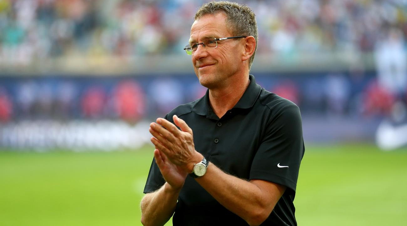 Ralf Rangnick leads the impressive RB Leipzig