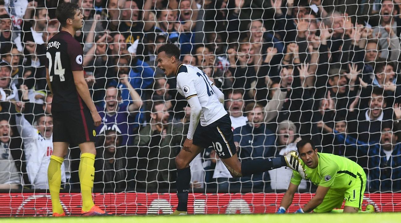 Tottenham beat Manchester City in a big Premier League battle