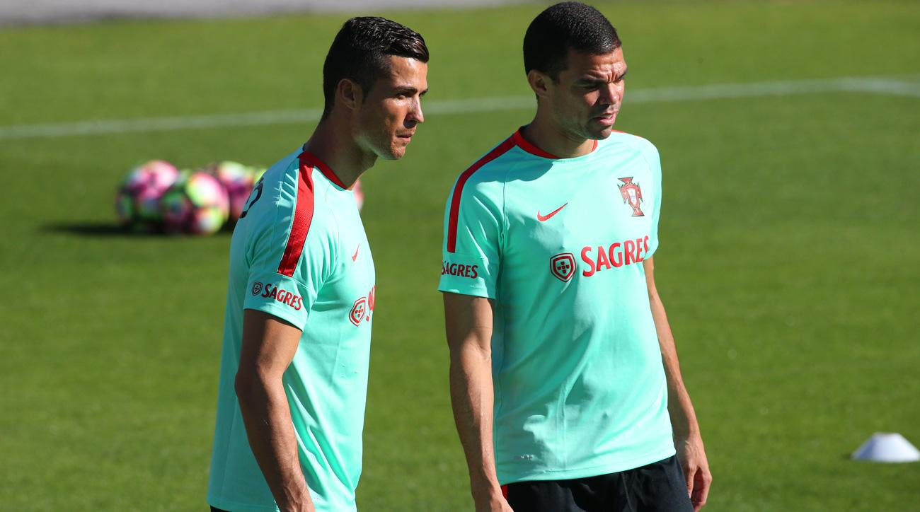 Cristiano Ronaldo and Pepe lead Portugal in World Cup qualifying