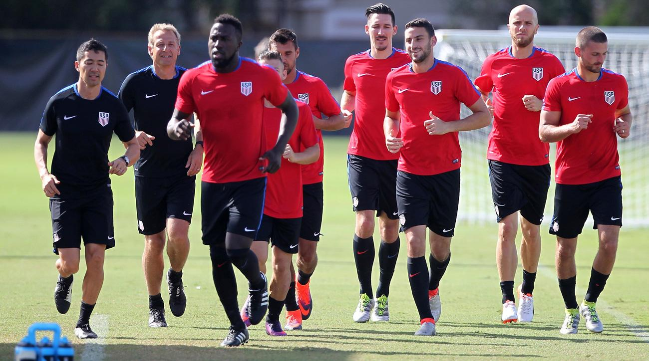 USMNT trains ahead of Friday's friendly vs. Cuba