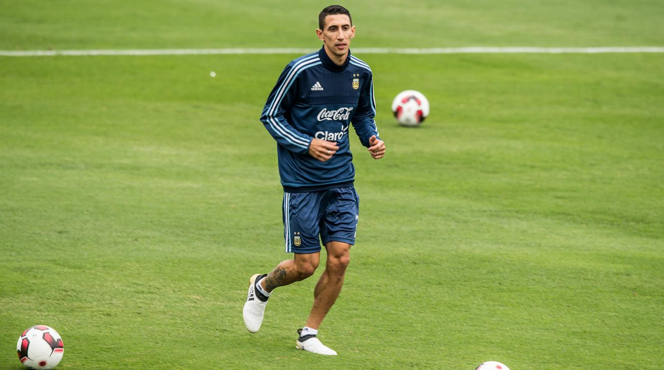 Angel Di Maria nearly retired from Argentina's national team after Copa America Centenario