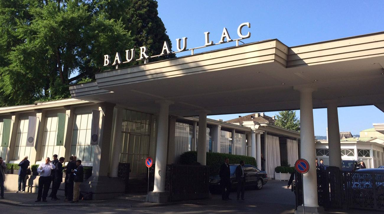 The Baur au Lac hotel is the site of the famous FIFA raids in Zurich