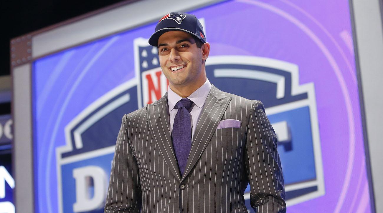 Tom Brady moments: Pats select Jimmy Garoppolo   SI.com Jimmy Garoppolo Patriots Highlights