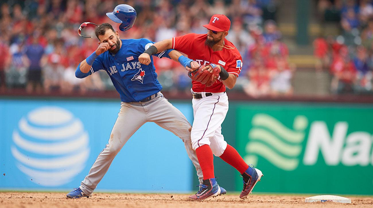 Jose Bautista, Toronto Blue Jays; Rougned Odor, Texas Rangers