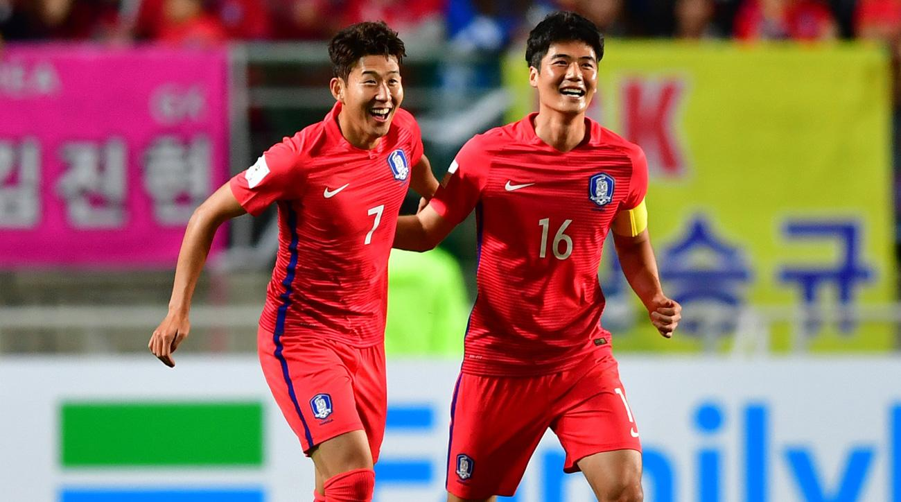 Hueng-min Son leads South Korea over Qatar in World Cup qualifying