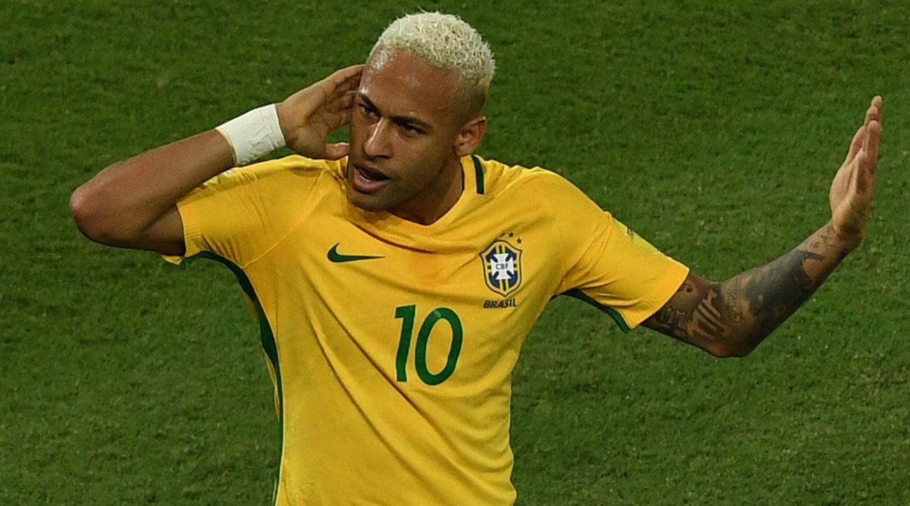 Neymar scores in Brazil's World Cup qualifying rout of Bolivia