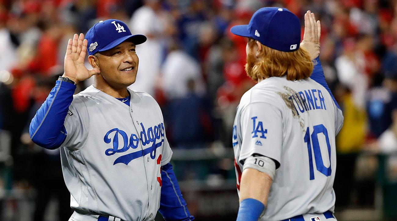 Dave Roberts and Justin Turner, Los Angeles Dodgers
