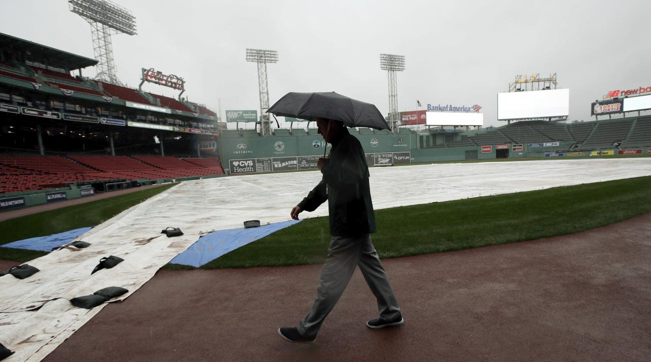 red sox indians playoffs alds game 3 postponed