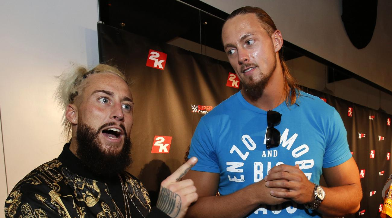 wwe wrestling enzo amore big cass william shatner interview
