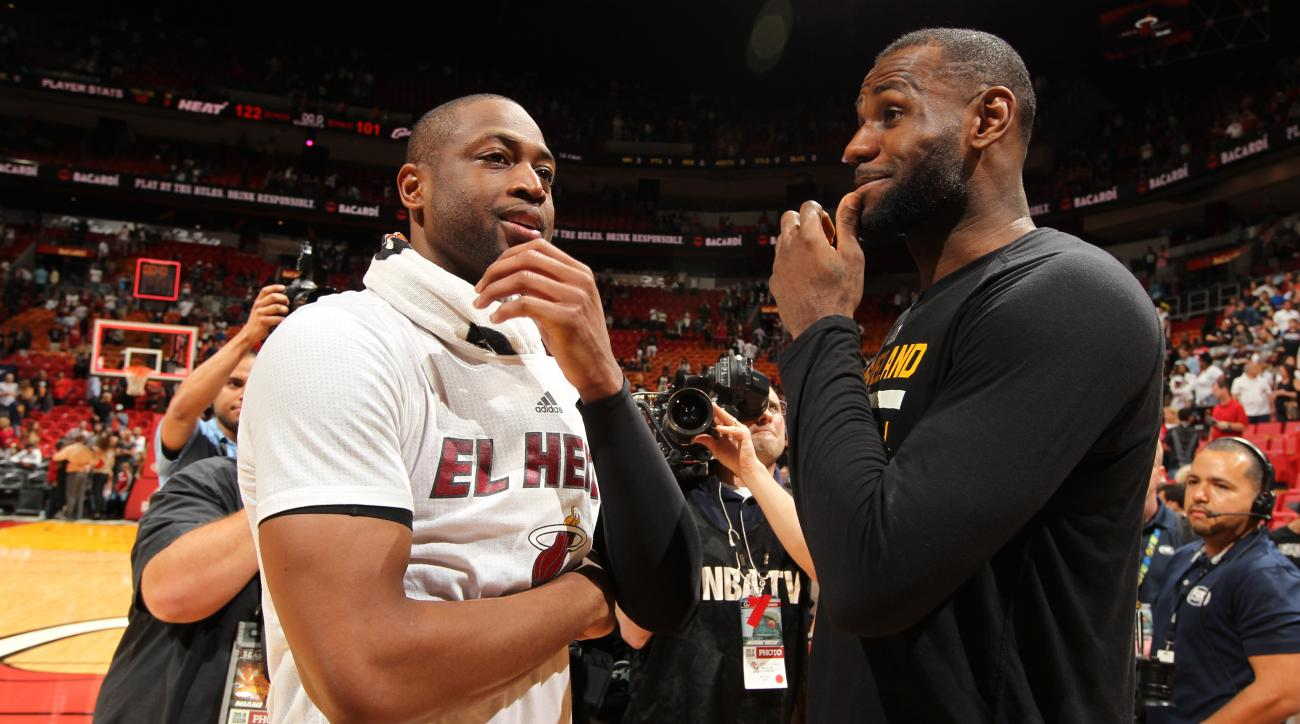 LeBron James: Cavaliers couldn't afford Dwyane Wade | SI.com