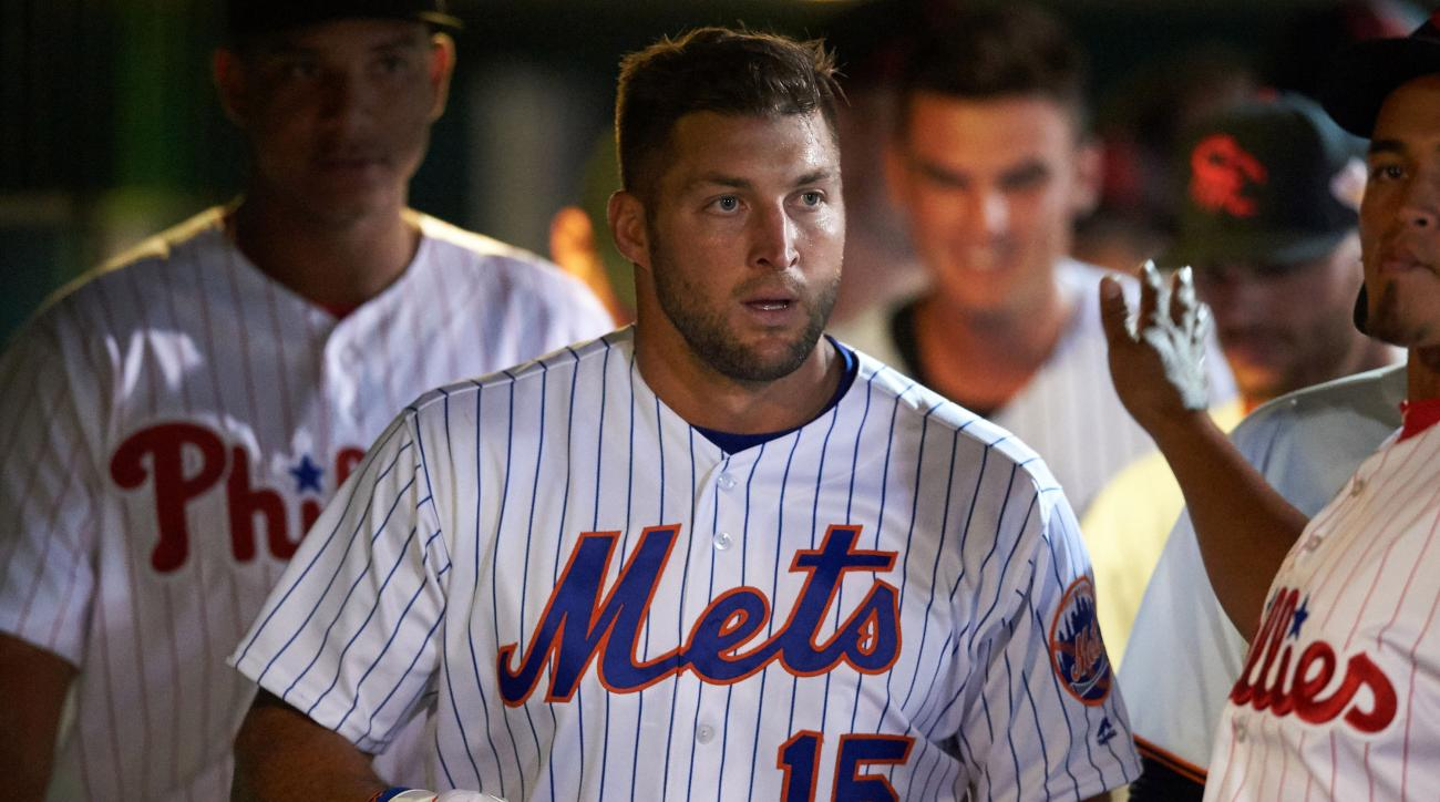 tim tebow arizona fall league hit video