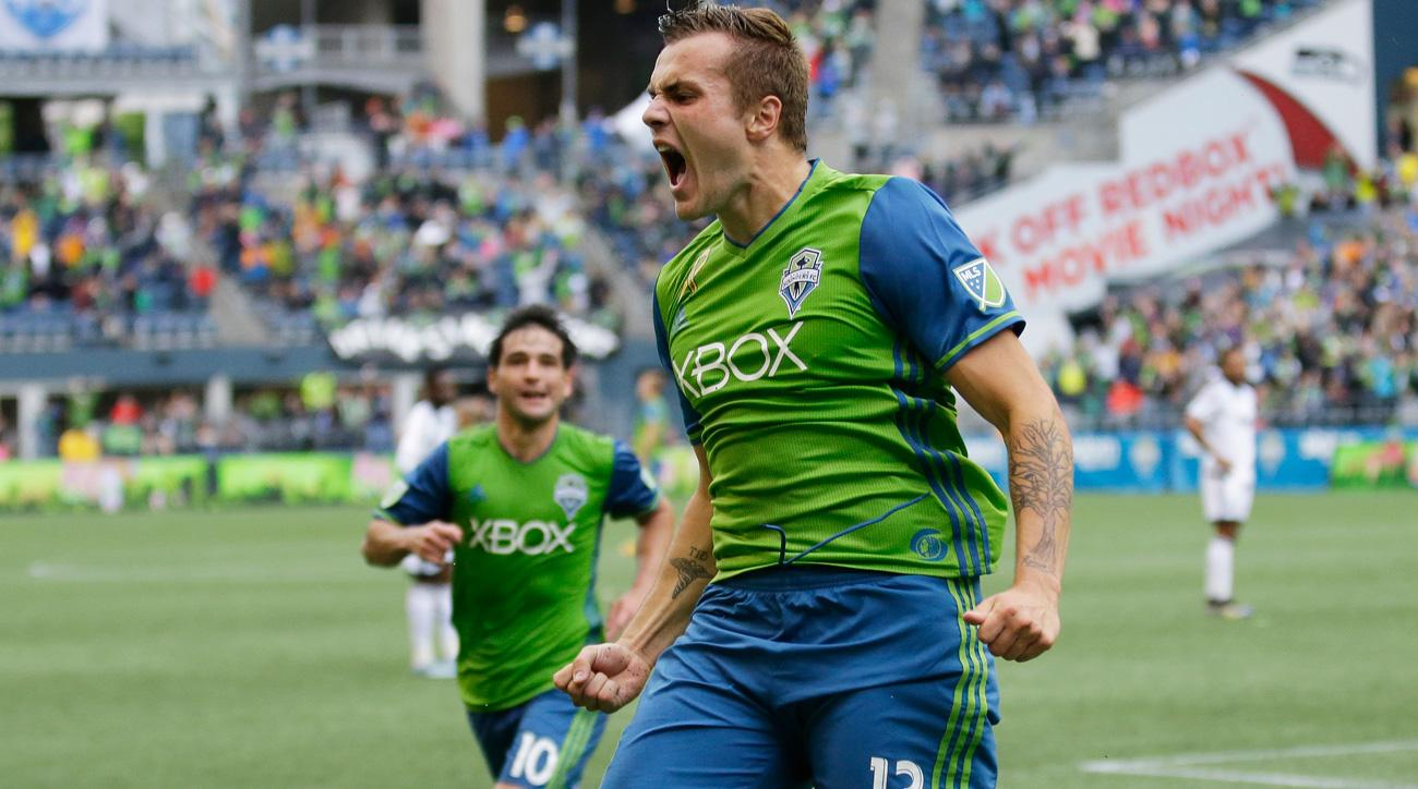 Jordan Morris has enjoyed a successful rookie season with the Seattle Sounders