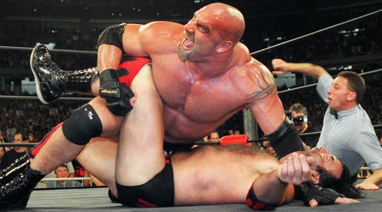 wwe week wrestling new japan goldberg colt cabana