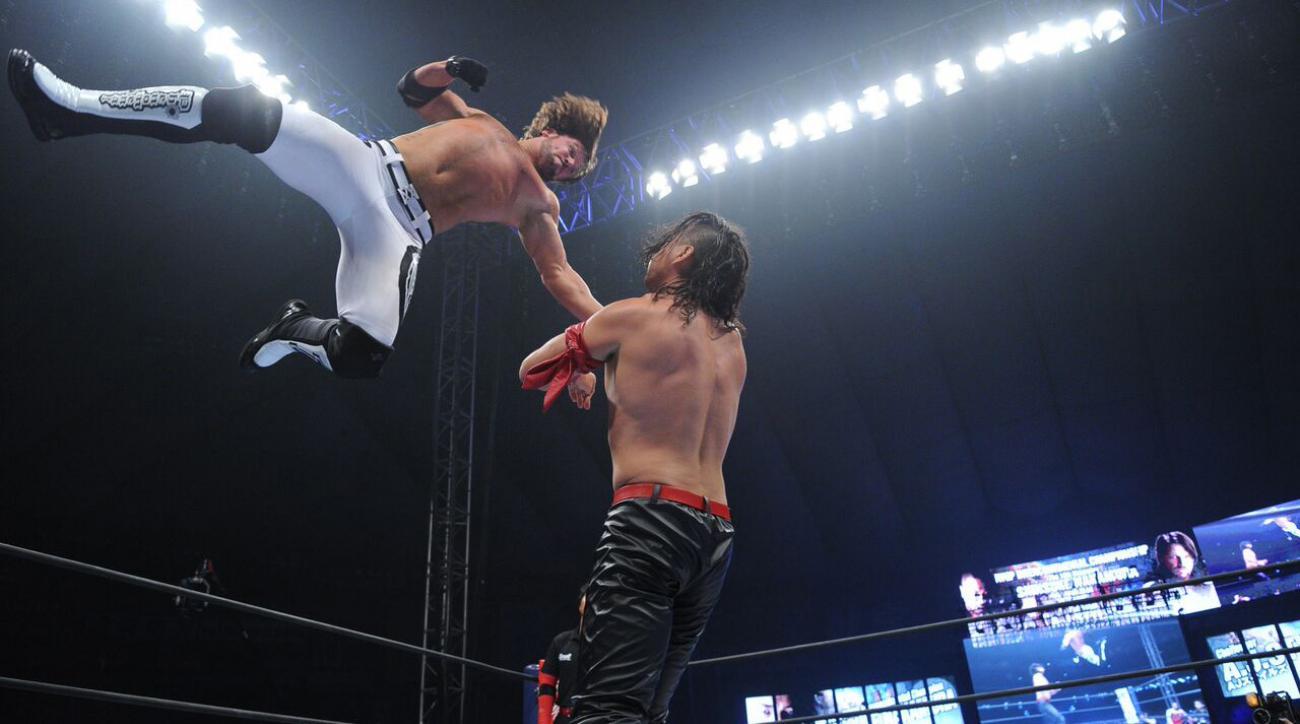 AJ Styles Shawn Michaels Royal Rumble interview