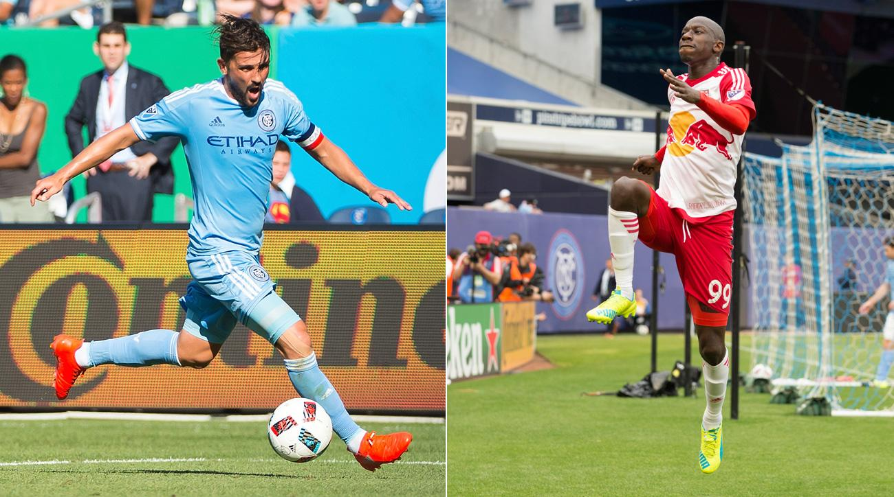 David Villa and Bradley Wright-Phillips vie for MLS's Golden Boot