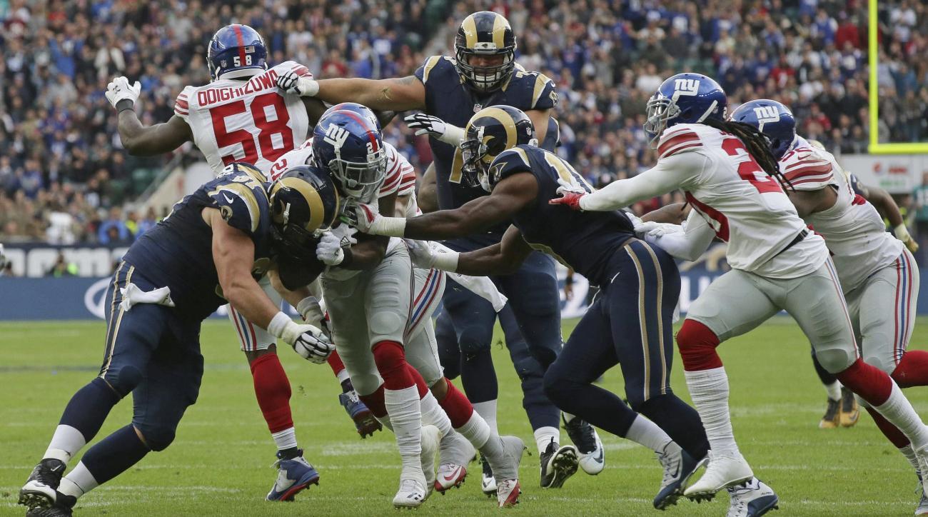 Giants Rams: Landon Collins interception touchdown return