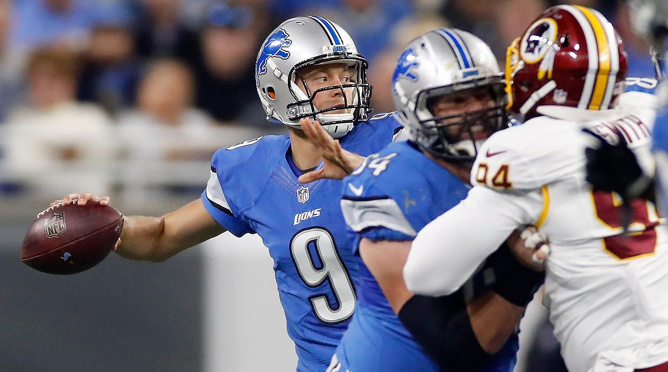 After winning their opener, Stafford and the Lions lost three straight and followed that up with three consecutive victories.