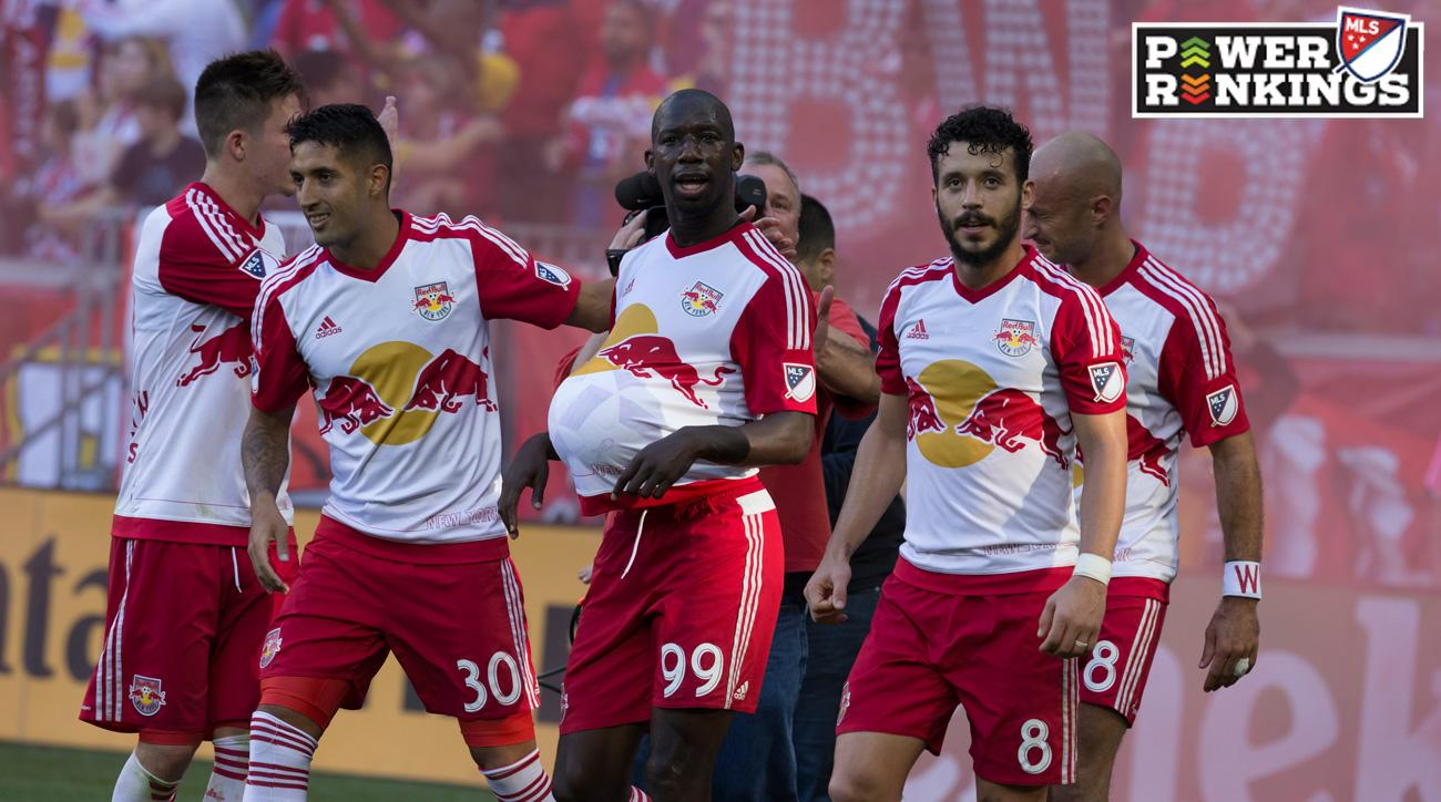 The New York Red Bulls enter the MLS playoffs unbeaten in 16 league matches