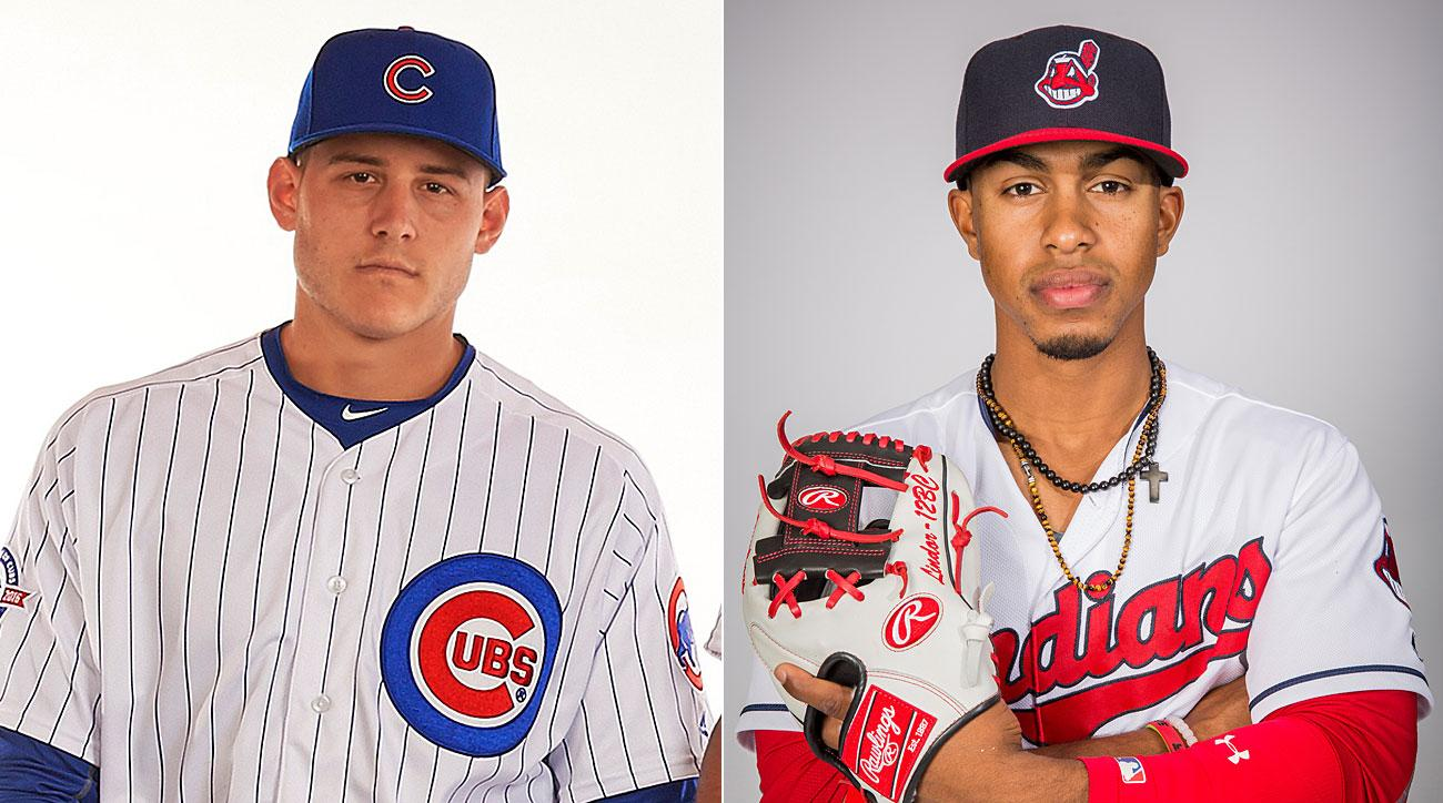 Anthony Rizzo, Chicago Cubs; Francisco Lindor, Cleveland Indians
