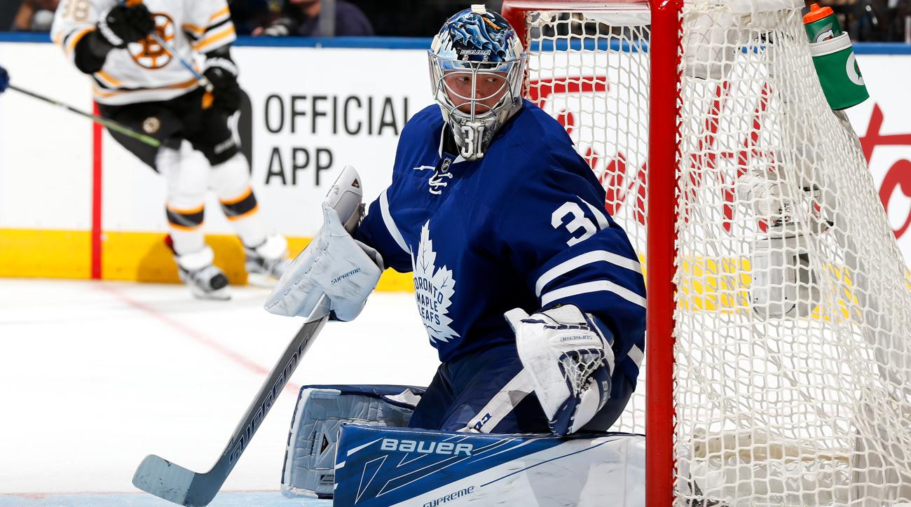 Frederik Andersen isn't worried about the Toronto Maple Leafs' struggles