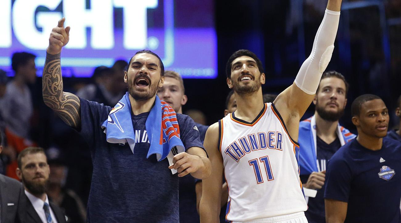 enes kanter  thunder changes  steven adams and twitter