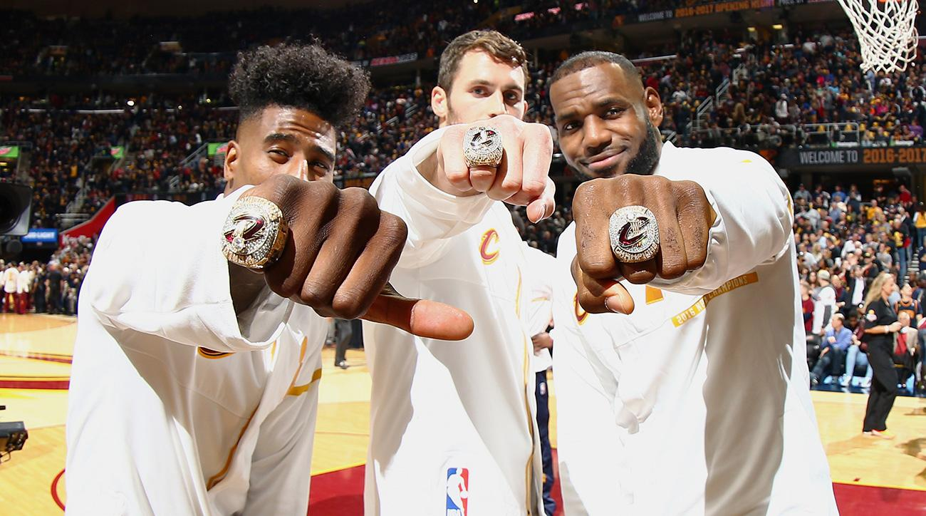 How Cavs Fans Got A Chance To Try On Championship Rings
