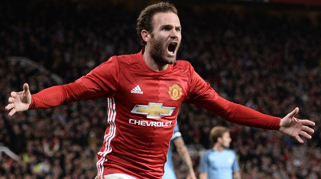 Manchester United Vs City: Mata Scores League Cup Winner